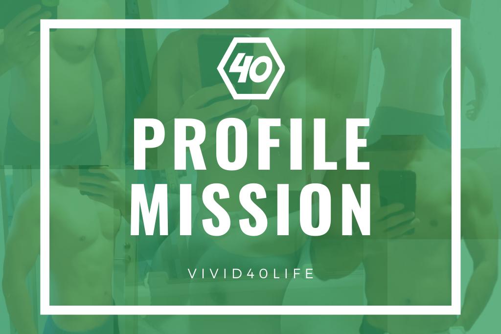 profile mission vivid40life kinntore  training weight training kiroku record