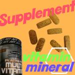 サプリメント ビタミン ミネラル